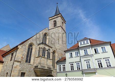 St. Severi Church In Erfurt In Germany