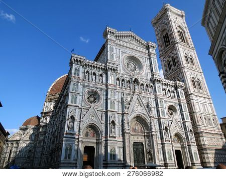 Europe, Italy,tuscany, Florence,cathedral Of  Santa Maria Del Fiore Wonderful Creation Of The  Great
