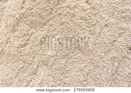 Sand Texture From Sand Pile And Background