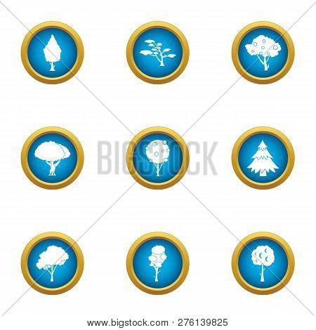 Beam Icons Set. Flat Set Of 9 Beam Icons For Web Isolated On White Background