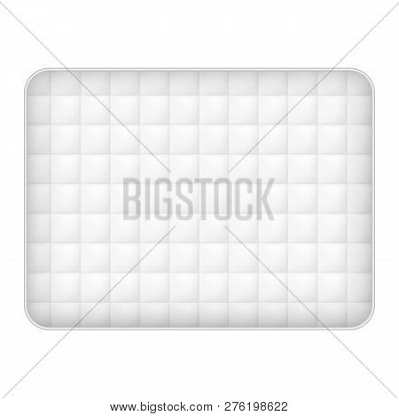 Soft Mattress Icon. Realistic Illustration Of Soft Mattress Icon For Web Design