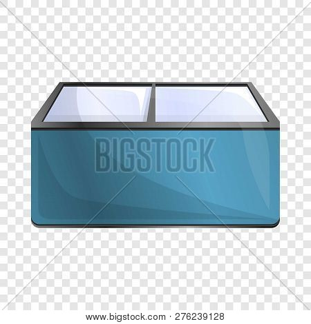 Commercial Freezer Icon. Cartoon Of Commercial Freezer Vector Icon For Web Design For Web Design