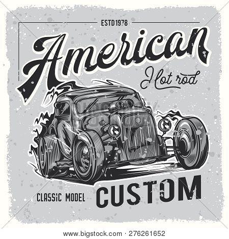 Vintage Car, Hot Rod Garage, Hotrods Car,old School Car