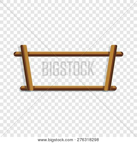 Wood Rack Icon. Cartoon Of Wood Rack Icon For Web Design