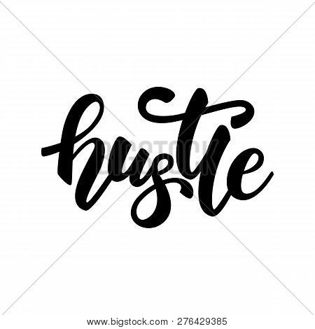 Lettering Banner Design With Word