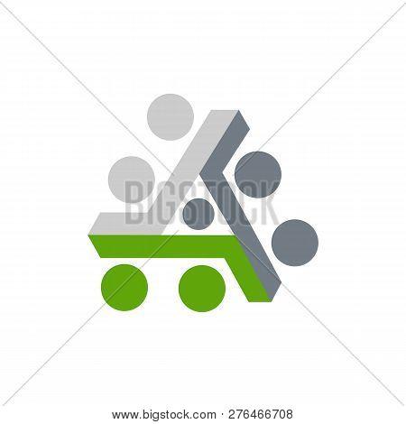 Abstract Triangle Logo, Creative Media Play Logo, Vector Logo Concept Illustration,media Logo Sign,