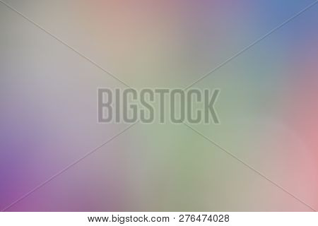 Colorful Background Soft Multi Color Style Abstract Blurred Pink Red Yellow Gold Green, Rainbow Brig
