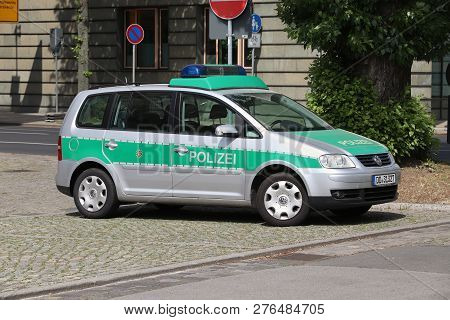 Dresden Police Car