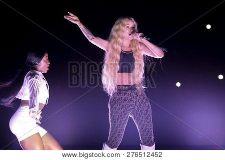 Iggy Azalea Performs In Concert
