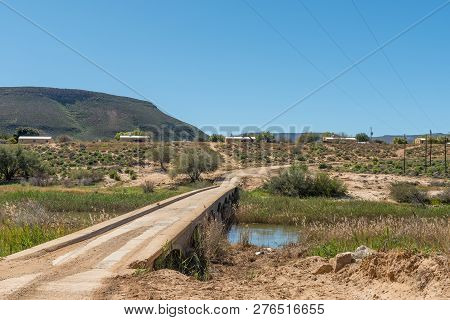 Bridge Over The Doring River On Road R364 In The Western Cape Province Of South Africa