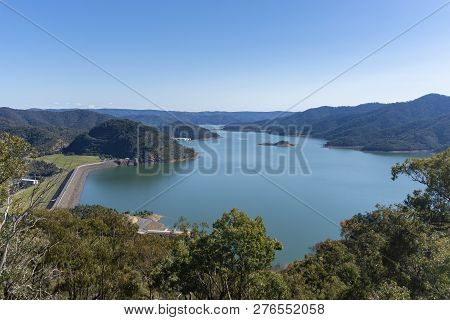 View Of Lake Eildon In Victoria, Australia