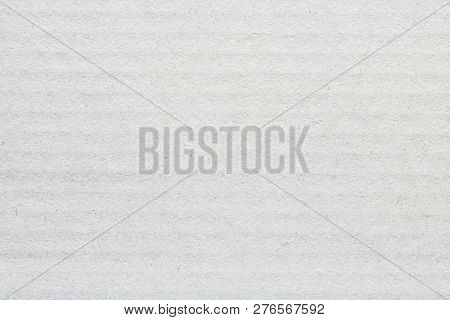 White Cardboard Texture Pattern Background, Horizontal Stripes