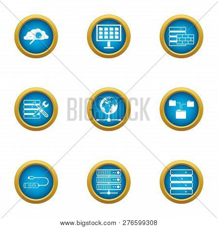Opportunity Icons Set. Flat Set Of 9 Opportunity Icons For Web Isolated On White Background