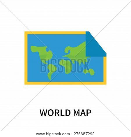 World Map Icon Vector & Photo (Free Trial) | Bigstock