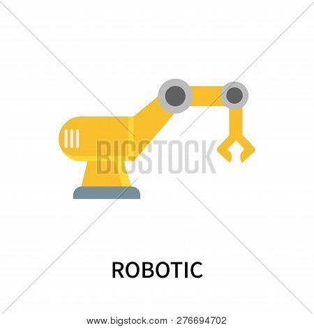 Robotic Icon Isolated On White Background. Robotic Icon Simple Sign. Robotic Icon Trendy And Modern