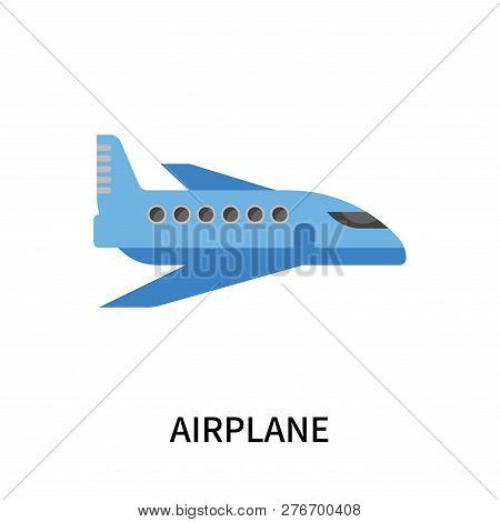 Airplane Icon Isolated On White Background. Airplane Icon Simple Sign. Airplane Icon Trendy And Mode