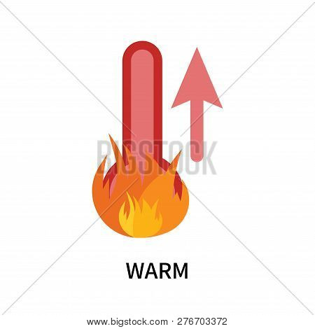 Warm Icon Isolated On White Background. Warm Icon Simple Sign. Warm Icon Trendy And Modern Symbol Fo