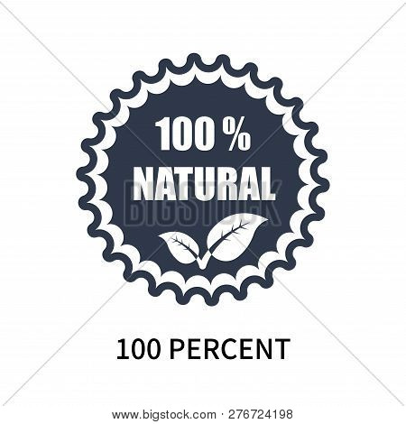 100 Percent Icon Isolated On White Background. 100 Percent Icon Simple Sign. 100 Percent Icon Trendy