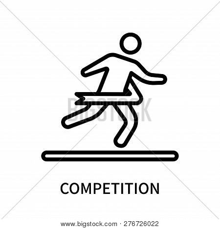 Competition Icon Isolated On White Background. Competition Icon Simple Sign. Competition Icon Trendy