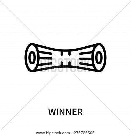 Winner Icon Isolated On White Background. Winner Icon Simple Sign. Winner Icon Trendy And Modern Sym