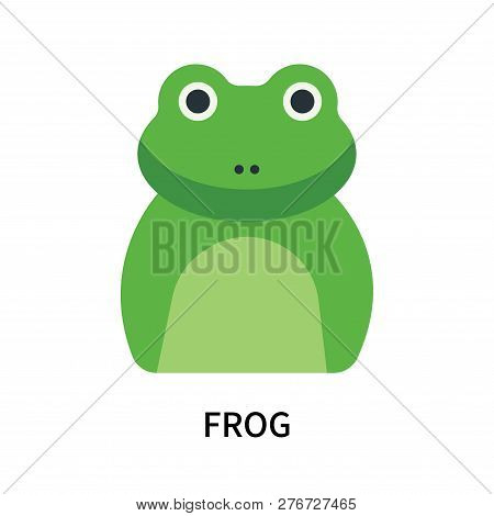Frog Icon Isolated On White Background. Frog Icon Simple Sign. Frog Icon Trendy And Modern Symbol Fo