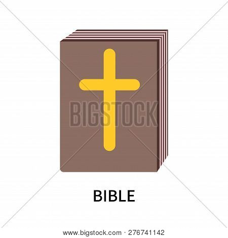 Bible Icon Isolated On White Background. Bible Icon Simple Sign. Bible Icon Trendy And Modern Symbol