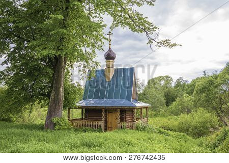 The Holy Spring Of St. Nicholas The Wonderworker At The Village Of Chubukovo.