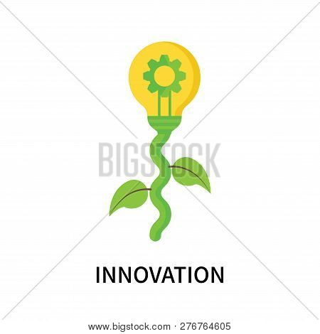 Innovation Icon Isolated On White Background. Innovation Icon Simple Sign. Innovation Icon Trendy An