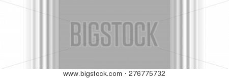 Wide Grey Background Banner With Gradient Stripes