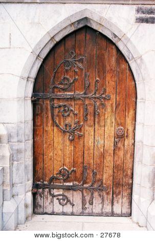 Christ Church Door