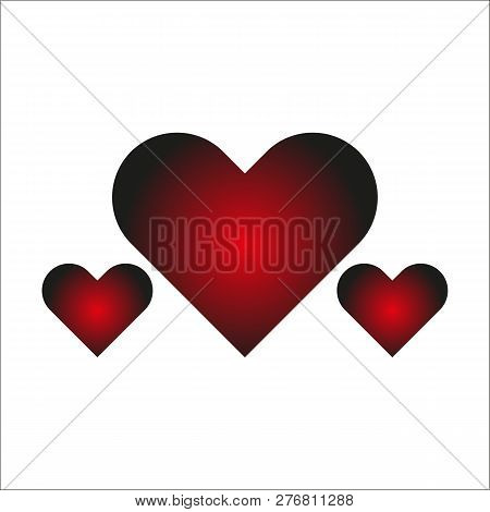 Save Download Preview Heart Icon Vector Logo, Heart Logo, Heart Shape, Love Logo Concept, Heart Logo