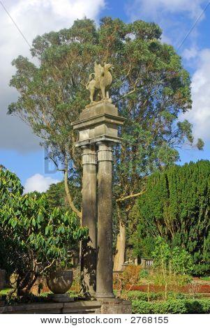 Dragon On Pillar