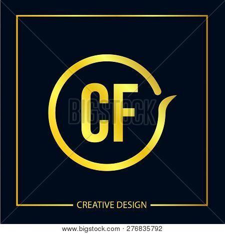 Initial Letter Cg Logo Template Vector Design