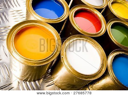 Gold cans