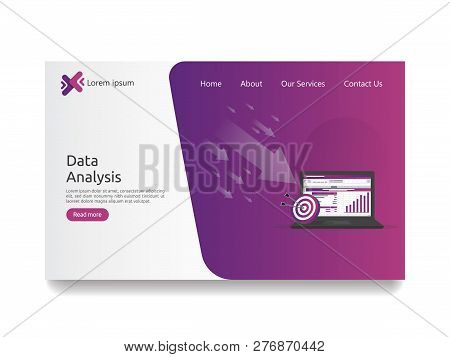 Big Data Analysis On Screen. Seo Analytic, Spreadsheet Business Audit With Graphs Charts. Return On