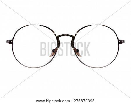 Glasses. Spectacles. Sunglasses. On White Background. Glass, Isolated, Sunglasses, White, Eyeglasses