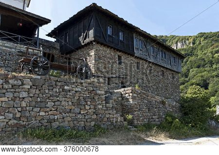 Glozhene Monastery , Bulgaria - July 21, 2012:  Eastern Orthodox Glozhene Monastery St. George Build