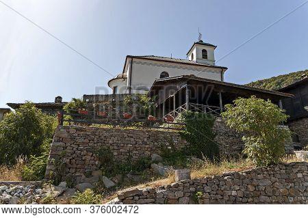 Glozhene Monastery , Bulgaria - July 21, 2012:  Eastern Orthodox Glozhene Monastery St. George, Buil