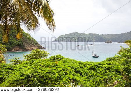 View Of The Bay In The Caribbean Island Of Tobago Subtropics World Tourism