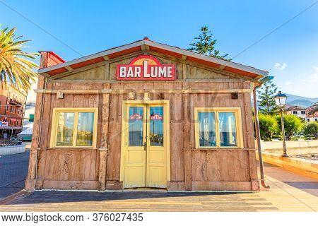 Marciana Marina, Elba Island, Italy - June 17, 2020: Location Set Of The Crimes Of Barlume Fiction S