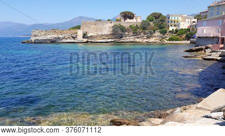 Village Of The Sea In Saint Florent,corsica, France