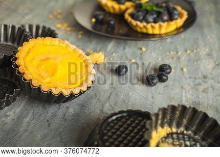 Little Blueberries Tarts