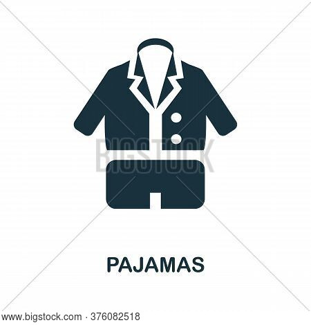 Pajamas Icon. Simple Element From Well Sleep Collection. Creative Pajamas Icon For Web Design, Templ