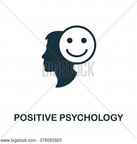Positive Psychology Icon. Simple Element From Business Management Collection. Creative Positive Psyc