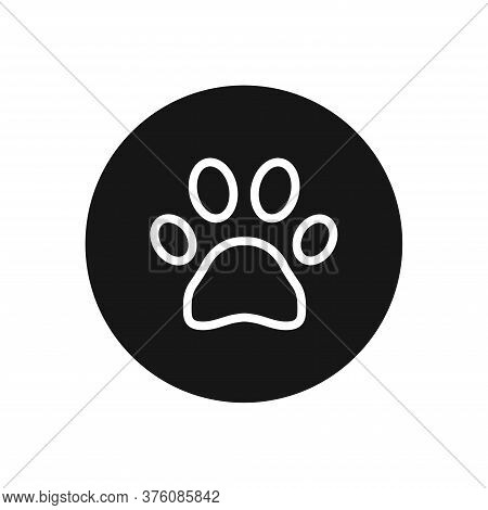 Paw Icon Isolated On White Background. Paw Icon In Trendy Design Style For Web Site And Mobile App.