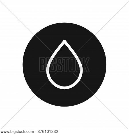 Drop Icon Isolated On White Background. Drop Icon In Trendy Design Style For Web Site And Mobile App