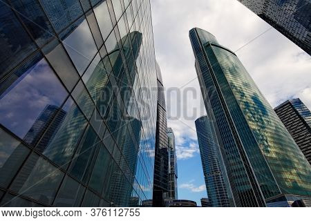 Skyscrapers Of Moscow-city 3