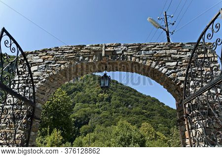 Glozhene Monastery , Bulgaria - July 21, 2012:  View Of The Main Entrance Of The Eastern Orthodox Gl