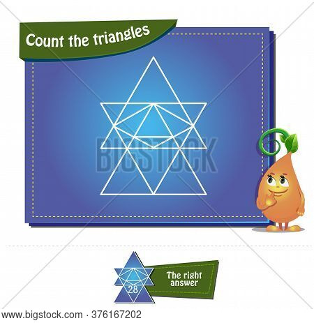 Count The Triangles 20 Brainteaser