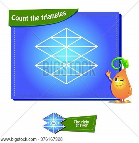 Count The Triangles 23 Brainteaser